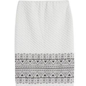 41Hawthorn Joelle Textured Knit Skirt - Small NWT